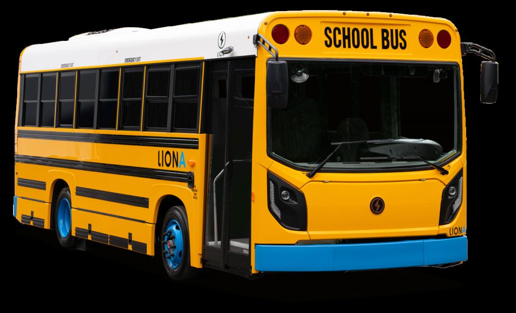 LionA All-Electric Mini School Bus