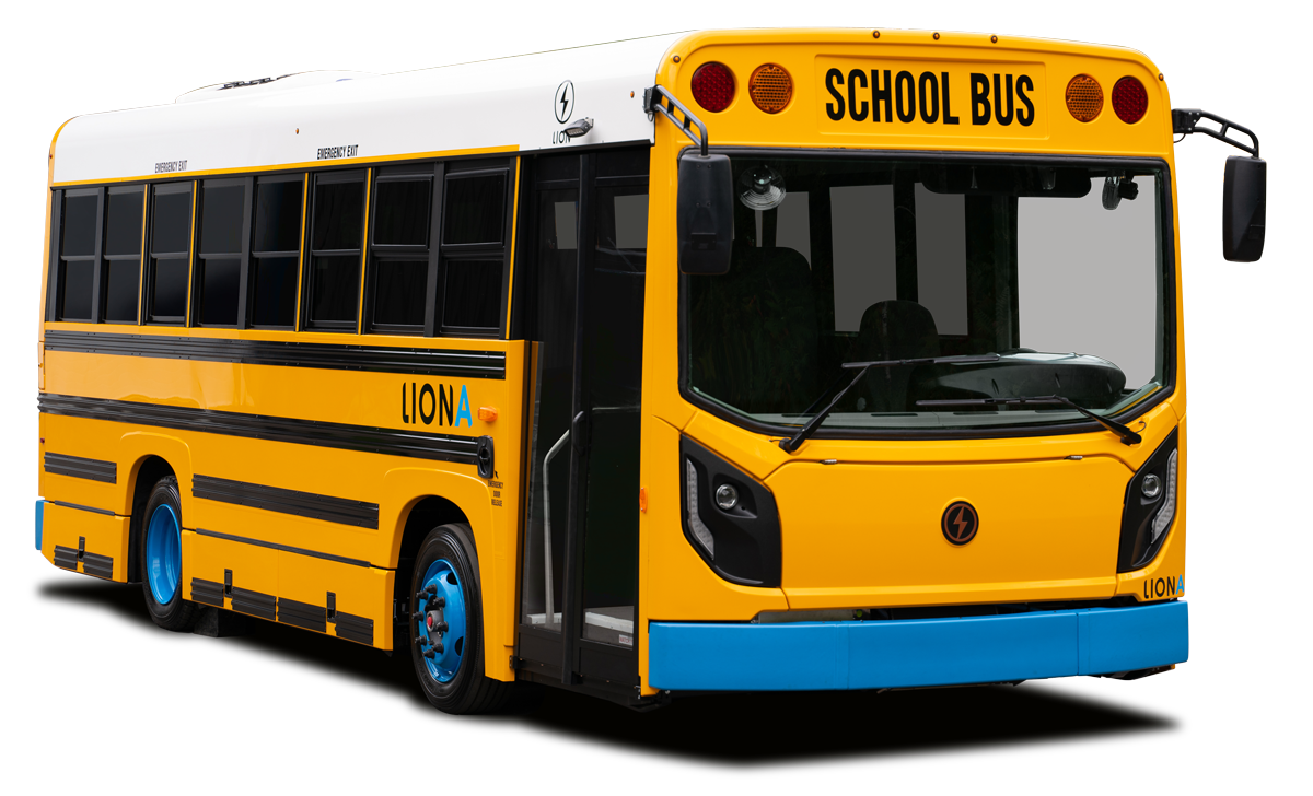 LionA All-Electric Mini School Bus