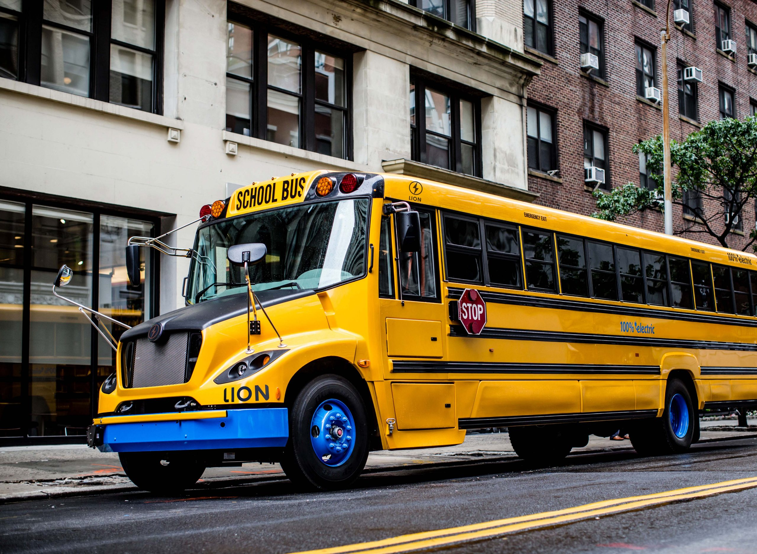 Lion Electric LionC All-Electric School Bus Type C
