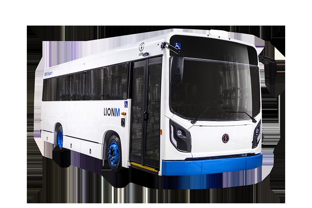Lion Electric LionM All-Electric Transit Minibus