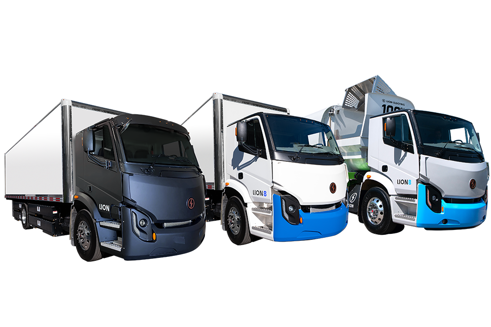 Lion Electric All-Electric Urban Commercial Trucks