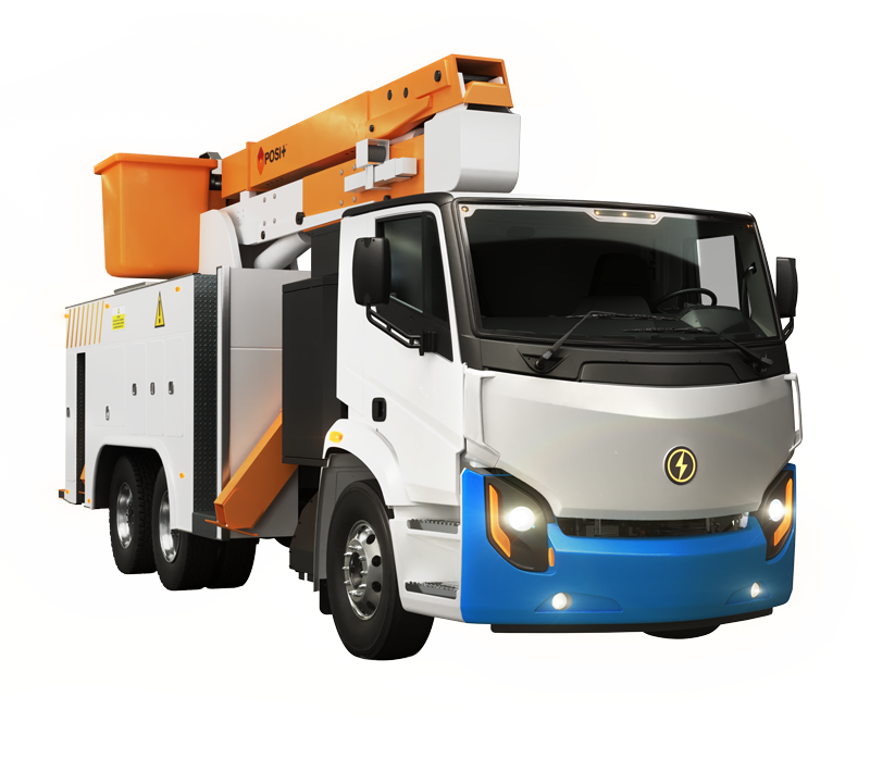 All-Electric Class 8 Bucket Truck