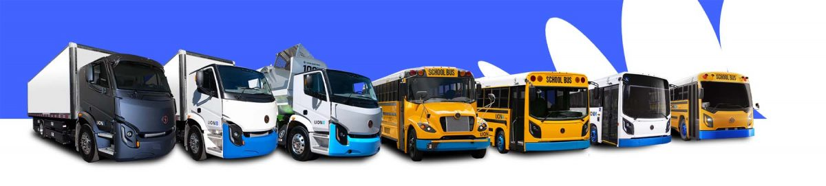 Lion Electric All-Electric Urban Commercial Trucks All-Electric School Buses