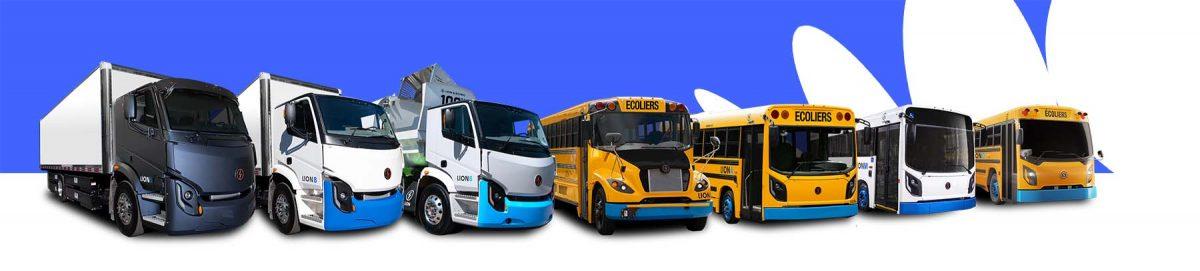 Lion Électrique Véhicules lourds électriques Autobus scolaires électriques Zéro-Émission